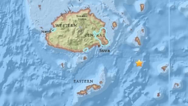 No tsunami threat after 7.8 natural disaster off Fiji