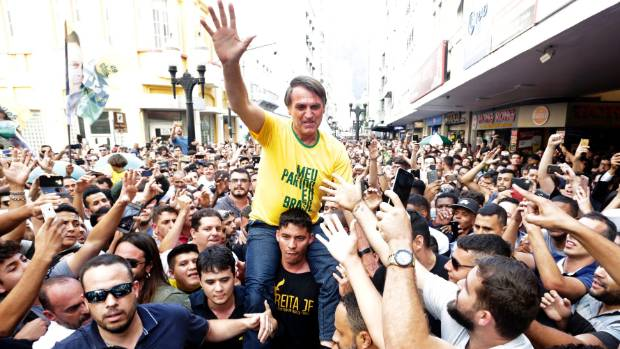 Newsday, Presidential front-runner stabbed in Brazil