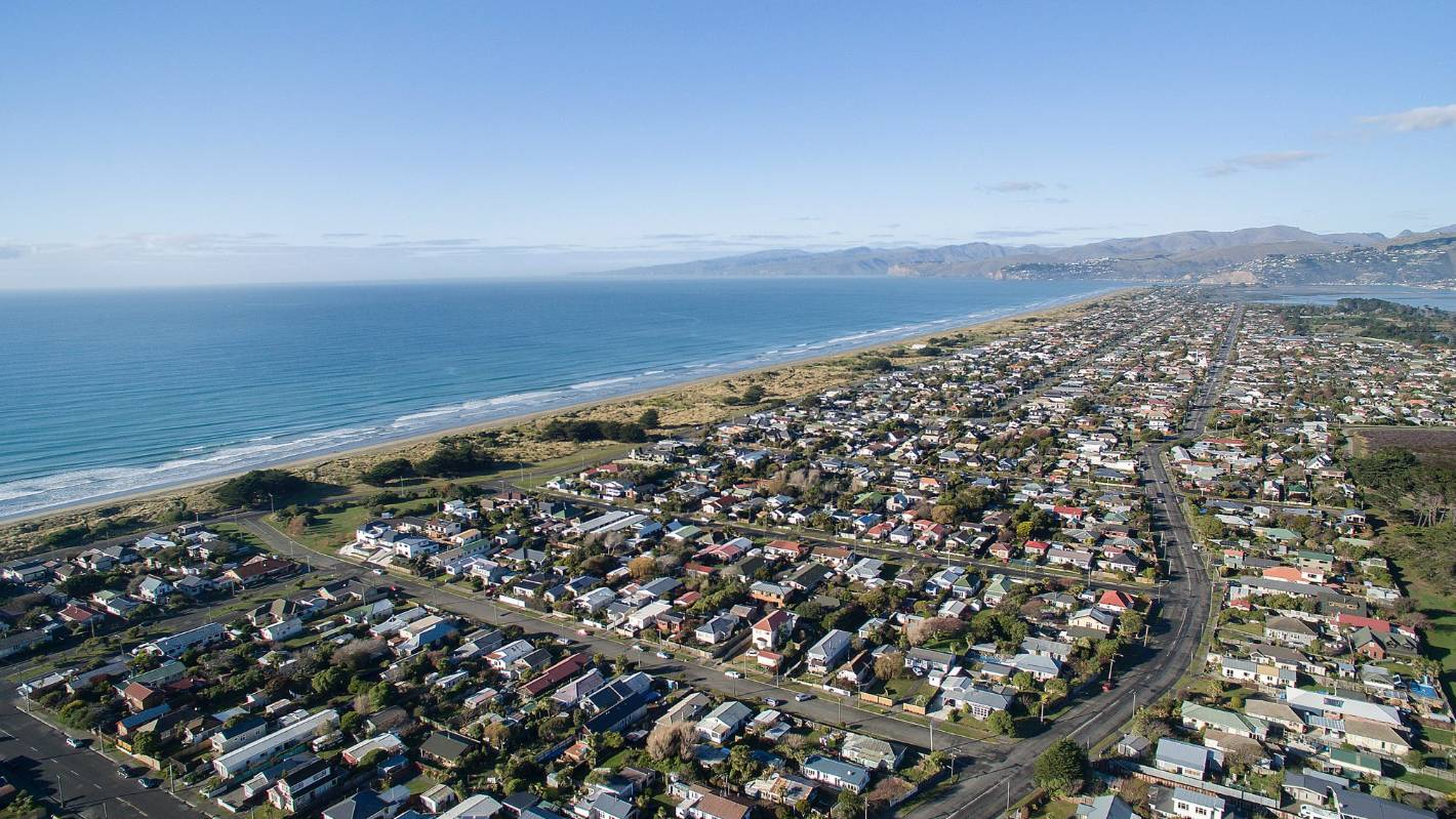 New Brighton and Southshore are some of the most vulnerable areas in Christchurch, facing a long-term threat of rising sea levels.
