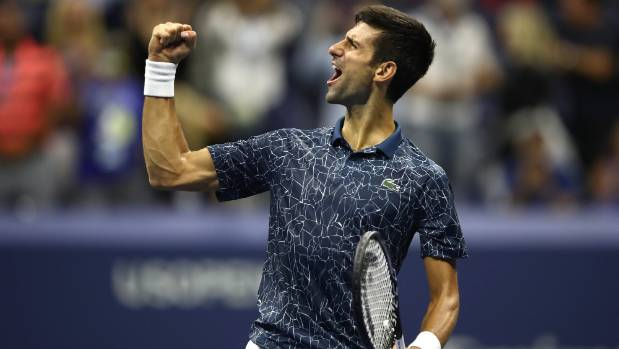 US Open: Djokovic equals Sampras slam haul with title