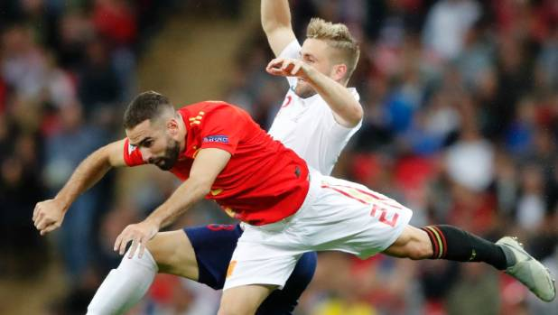 Referee 'bottled' awarding England late equaliser against Spain - Harry Kane