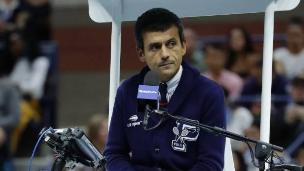 Carlos Ramos, umpire involved in US Open final controversy, returns to court