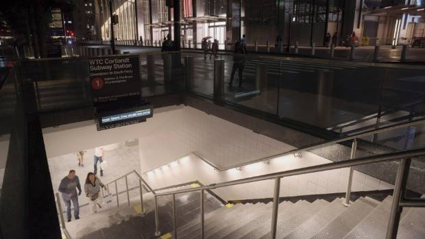 NYC train station reopens almost  17 years after 9/11
