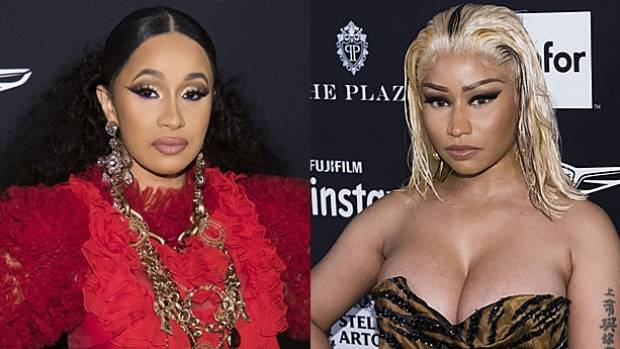 Nicki Minaj Disses Cardi B After Their Fight