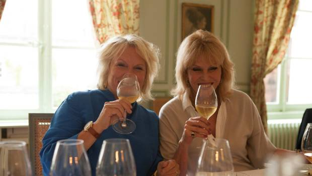 Jennifer Saunders and Joanna Lumley sip their way around Champagne in their likeable TV series, Joanna and Jennifer: Absolutely Champers.