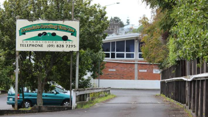 Avondale Bowling Club in West Auckland was now up for sale on TradeMe.