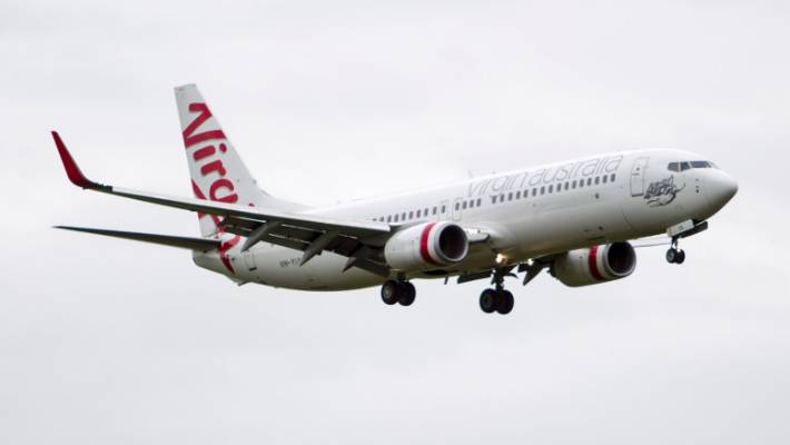 virgin airplanes Received sms on