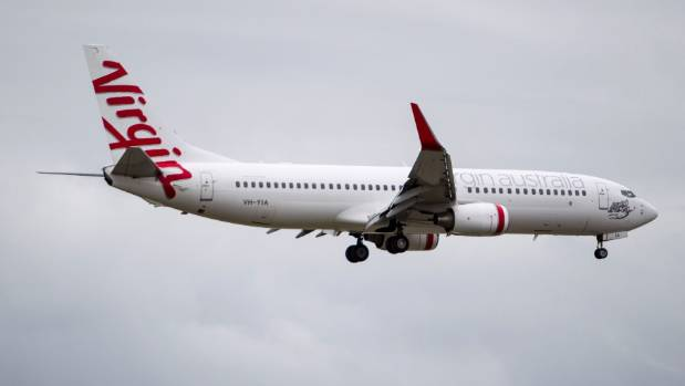 Passengers on a Virgin Australian flight from Melbourne were quarantined at Auckland Airport on Monday afternoon.
