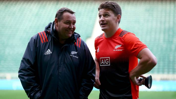 933ff6ea8 Steve Hansen says Beauden Barrett is a natural fit for the role filled by  Damian McKenzie