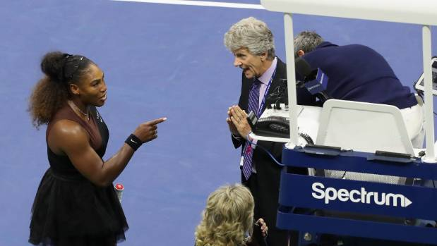 Cartoonist under fire over Serena