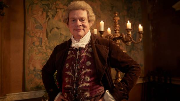 The opportunity to work with animals in Vanity Fair sealed the deal for Martin Clunes.