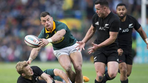 The Springboks can beat the All Blacks if they play to their traditional strengths, vows former Boks midfielder and assistant-coach Brendan Venter (file photo).
