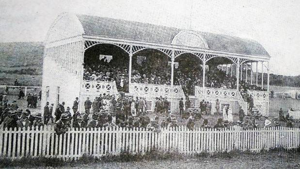In the early 1900s race meetings were held in Mangawhare and Dargaville  (three kms up the road). This grandstand at ...