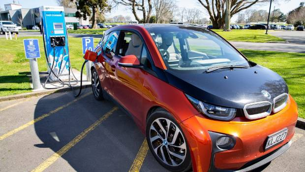 It's believed that there is about 8700 registered electric vehicles in New Zealand.