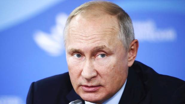 Putin: Russia has found novichok suspects but they are 'not criminal'