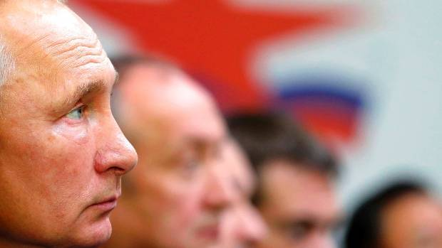 Putin says suspects in Novichok poisoning are 'civilians'