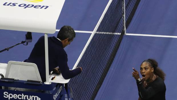 Serena Williams roasts umpire Carlos Ramos, and more than a week later still claims he was sexist.