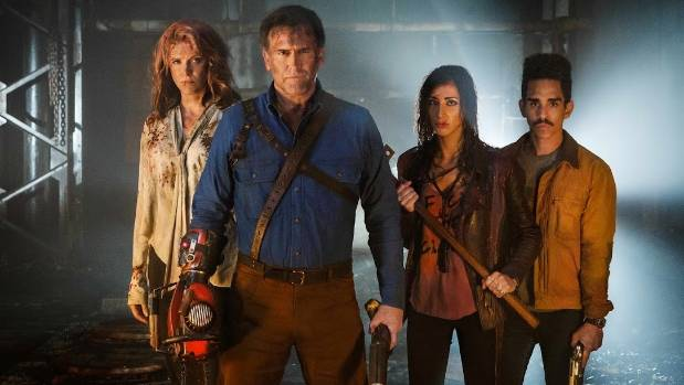 While all seasons of the New Zealand-shot Ash vs Evil Dead are available on Netflix in the US, Sky TV holds the rights ...
