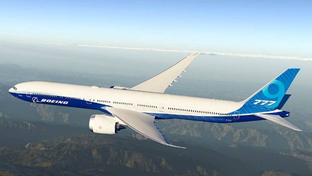 first look at new boeing 777x 9 stuff co nz