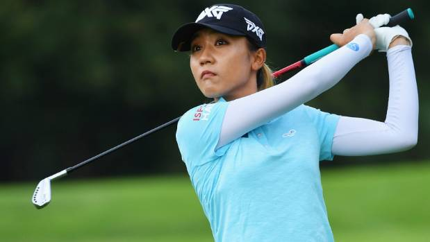 Evian Championship: England's Georgia Hall three shots off lead