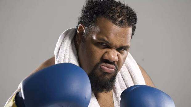 Rapper Fatman Scoop. He released his 1999 hit Be Faithful in collaboration with The Crooklyn Clan