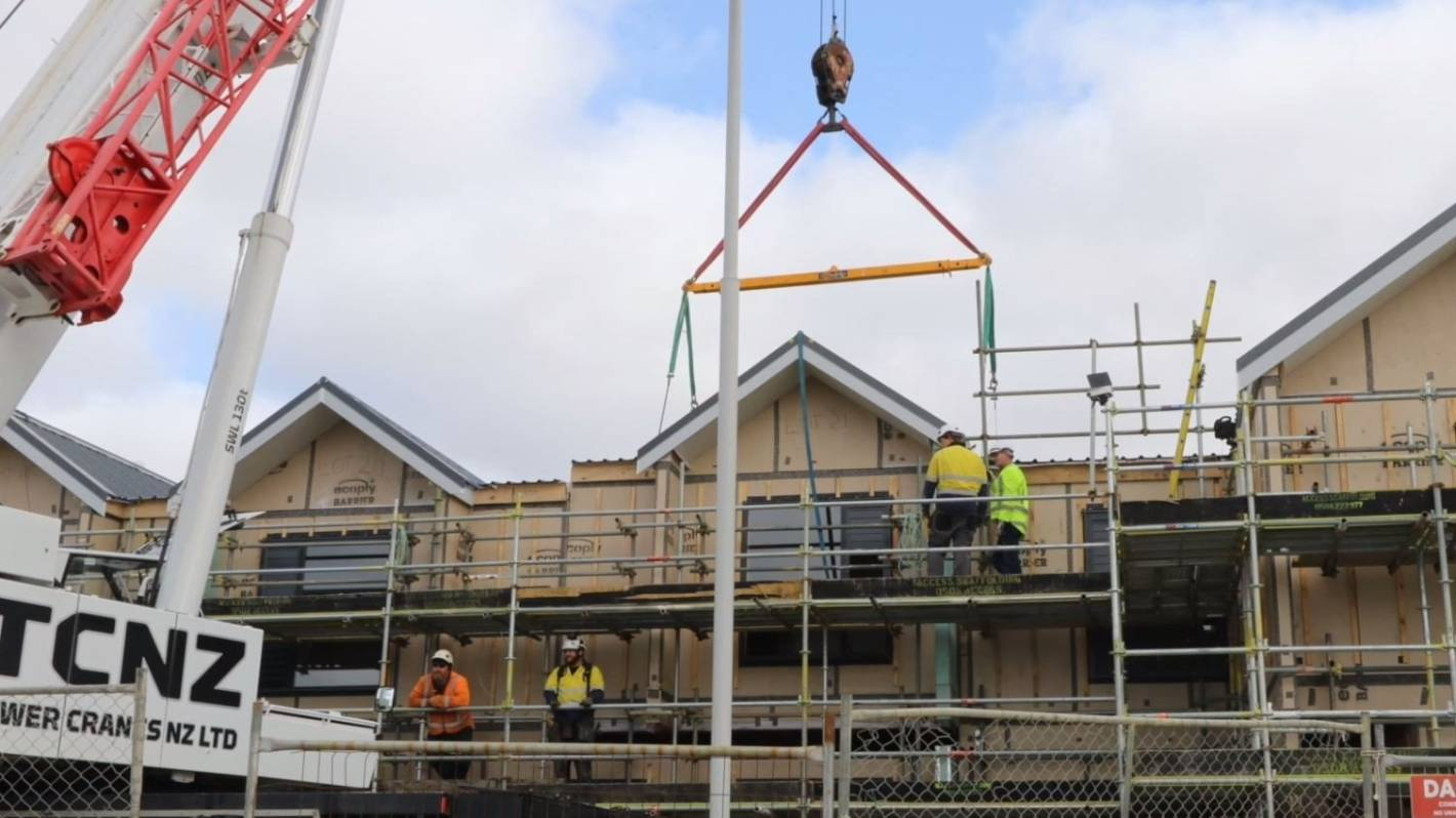 Fletcher Living House Built In A Day At Hobsonville Point