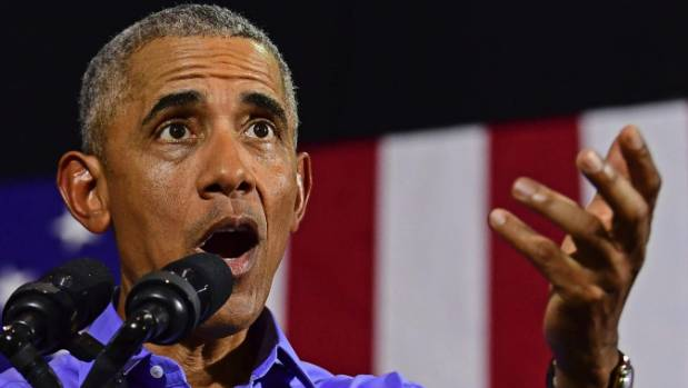 Former President Obama campaigns for Cordray in Ohio