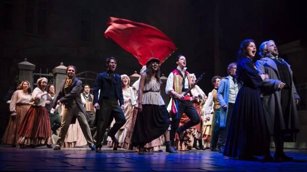 The cast of Showbiz Christchurch's Les Misérables.