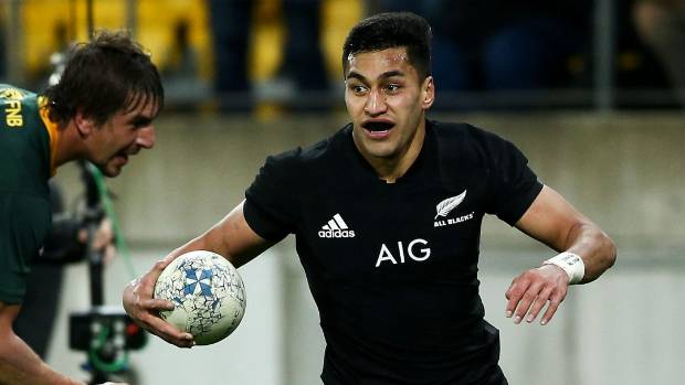 Try-scoring wing Rieko Ioane was the only New Zealander in the Rugby Championship Team of the Week selected by Planet Rugby.
