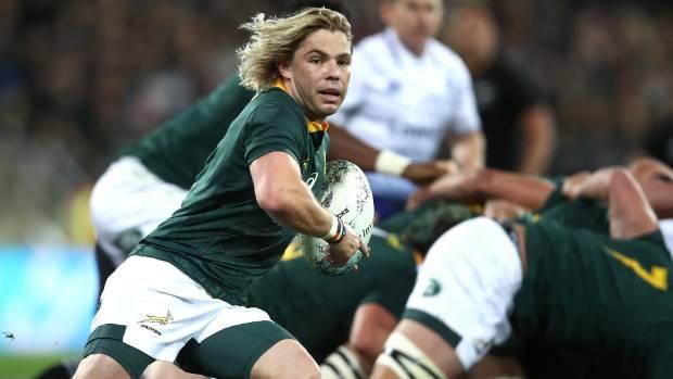 Faf de Klerk was one of eight Springboks to make Planet Rugby's Team of the Week.