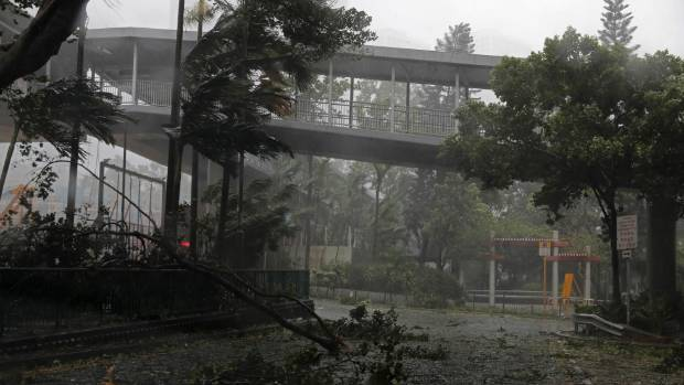 Typhoon Mangkhut slams South China after hitting the Philippines