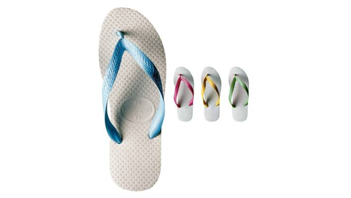 434b63e7a0610 The trademark rice pattern texture on the soles of Havaianas comes from  traditional Zori sandals that