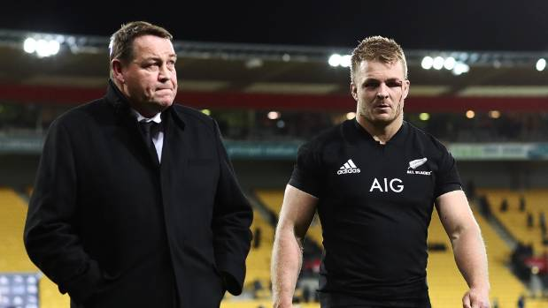 Coach Steve Hansen, left, and the All Blacks got a rare taste of trying to lose well.
