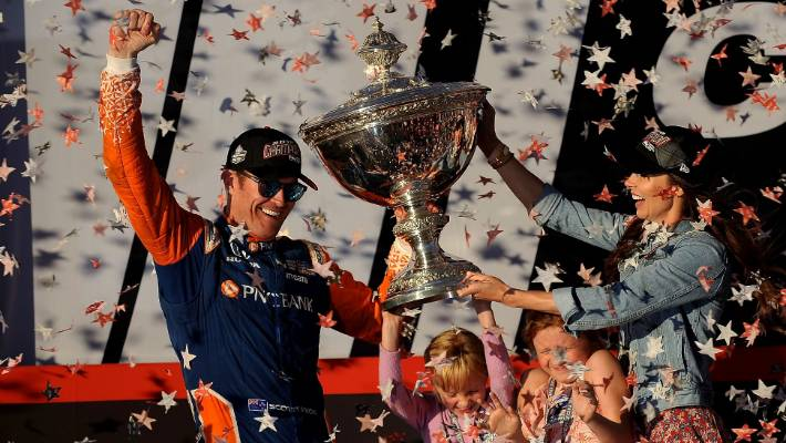 2cb43bb4429 Ice-cool and rock-solid Scott Dixon in pole position for supreme Halberg  Award