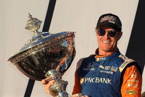 Scott Dixon's fifth IndyCar title has got people thinking about his place in the bigger sporting picture.