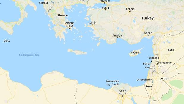 The aircraft disappeared over Syria's Mediterranean Sea coast