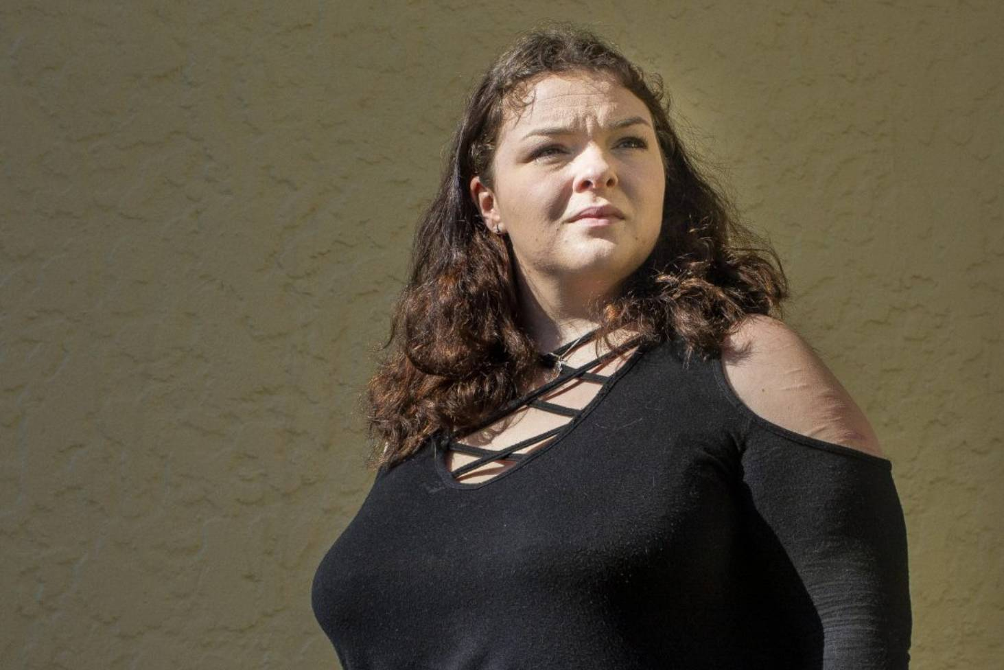 This girl showed how she reduced her breasts by almost 2 kg