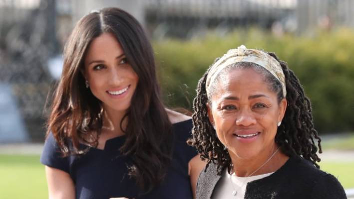 Meghan and her mum Doria Ragland are said to have a close relationship