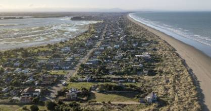 Parts of Southshore and New Brighton have been earmarked as being at risk of sea level rise - and residents have been ...