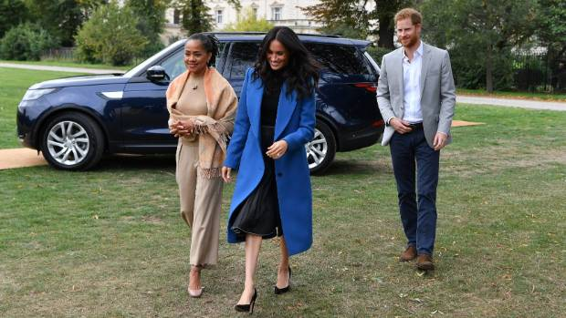 Duchess of Sussex Hosts Kensington Palace Party for Charity Cookbook