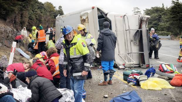 Transport Minister Phil Twyford is still awaiting a report into three serious bus crashes that occurred in the space of 11 days