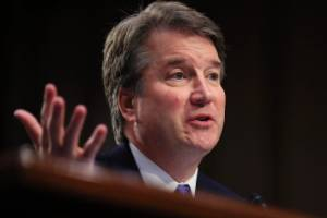 "In a defiant letter to leaders of the Senate Judiciary Committee, Brett Kavanaugh said he would ""not be intimidated into ..."