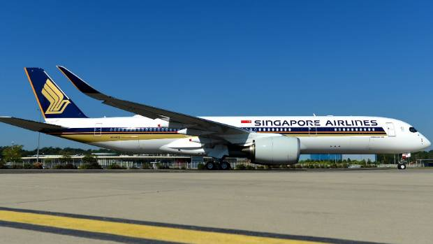 SIA takes delivery of A350-900 ULR for NY nonstop