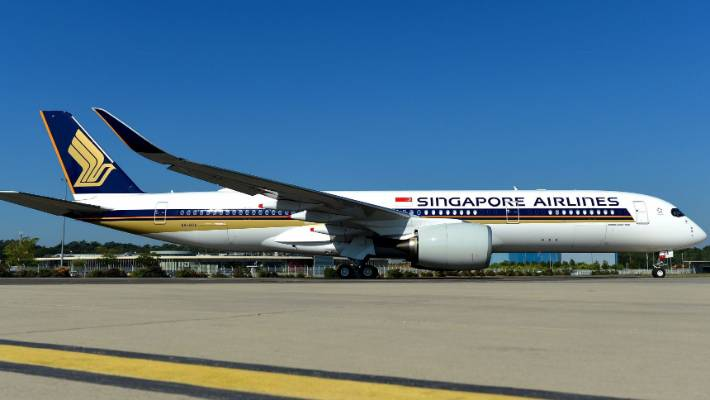 Singapore Airlines takes delivery of Airbus SE A350-900 | Stuff co nz
