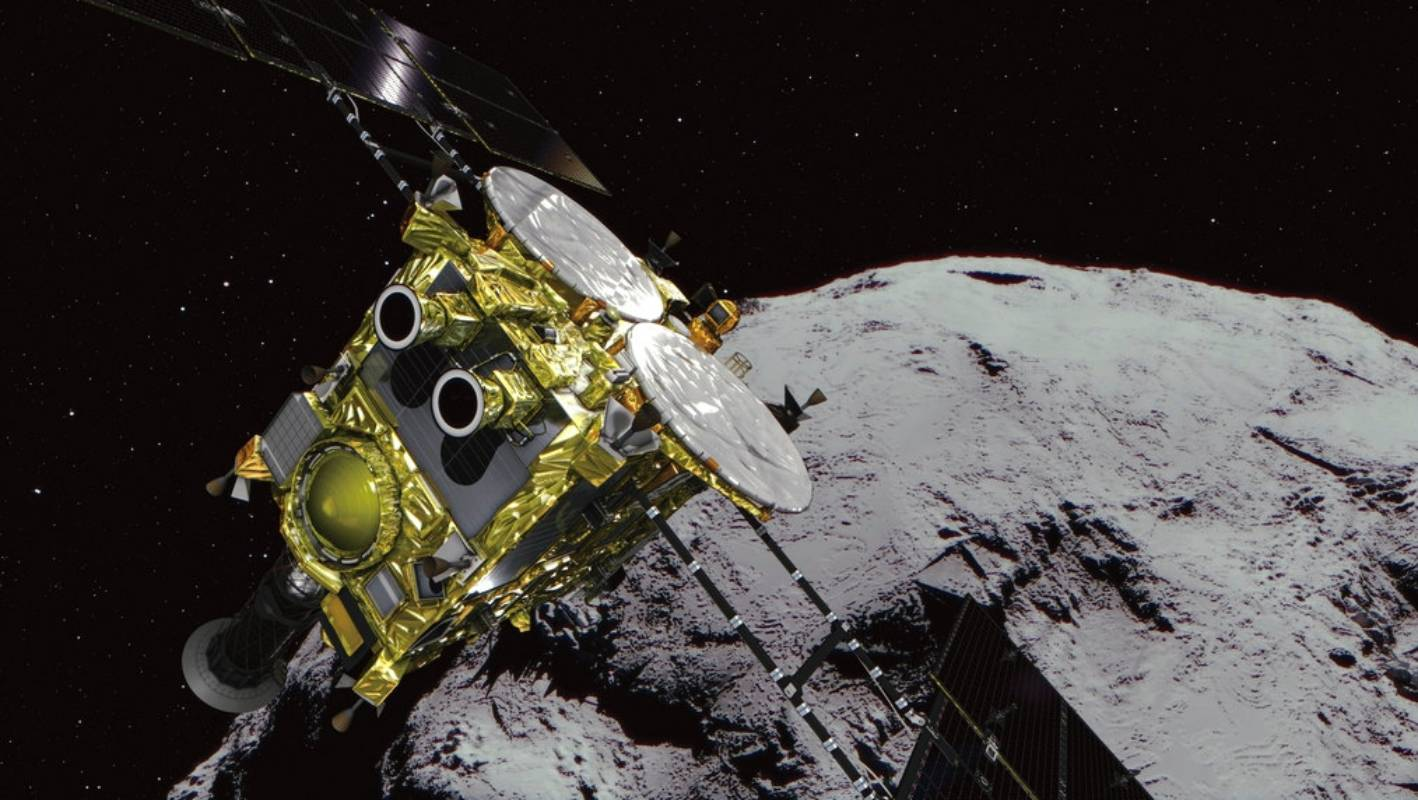 Japan spacecraft's rovers land on asteroid | Stuff co nz