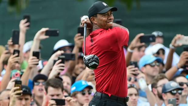Tiger Woods seals historic win with Tour Championship