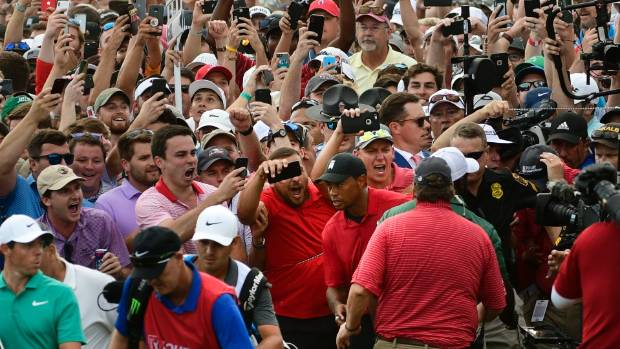 Tiger's Back! Woods Brings Home First Golf Victory Since 2013