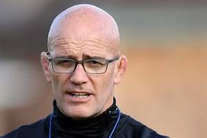 John Mitchell, pictured at England training, believes his new team can supplant the All Blacks as world No 1 within a year.