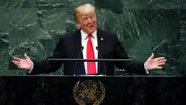 In his speech at the United Nations General Assembly US President Donald Trump stuck to a hard line on China