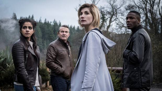 Doctor Who: Fans hail Jodie Whitaker in female Doctor's first appearance